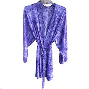 Victorias Secret Tie Dye Robe/Bathing Suit Cover